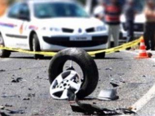 Polisten kaçan şüpheliler kaza yaptı 5 kişi yaralandı