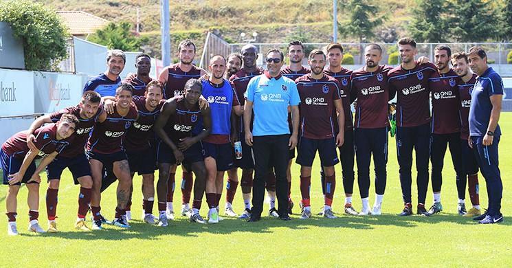 Rafet El Roman'dan Trabzonspor'a Sürpriz Ziyaret!