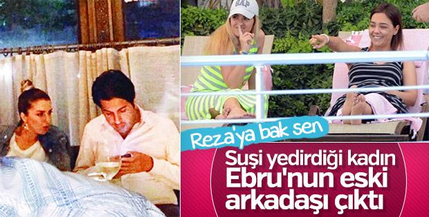 Reza Zarrab'ın yanındaki kadının kimliği belli oldu