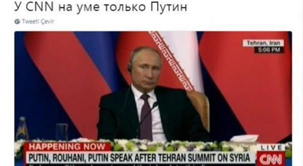Rus kanalı CNN'le alay etti
