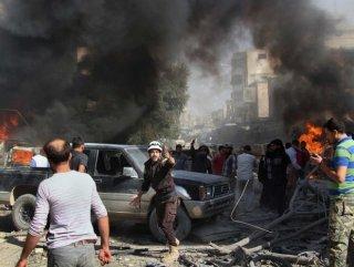 Rusya ve Suriye'nin İdlib'e hava saldırıları sürüyor