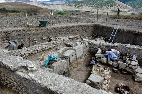 Satala Antik Kenti'nde tarih gün yüzüne çıkarılıyor