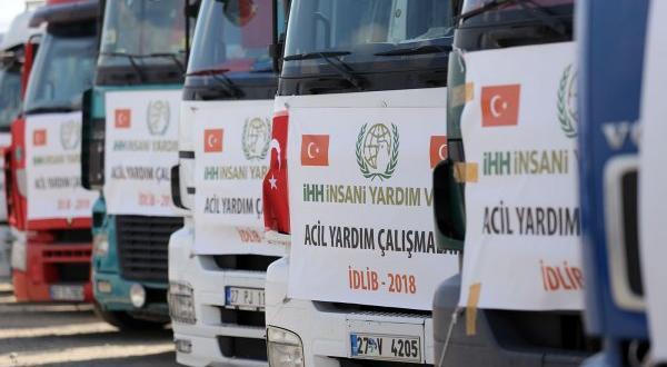 Takviye tırları İdlib için yola çıktı