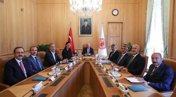 TBMM Başkanı Yıldırım, Samsun Heyetini Kabul Etti