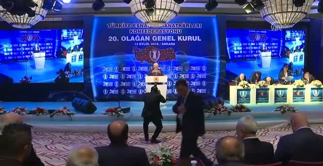 TBMM Başkanı Yıldırım, TESK 20. Olağan Genel Kurulu'nda Konuştu (1)