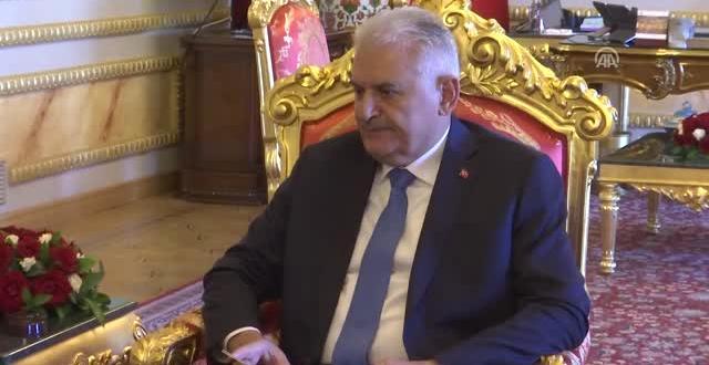 TBMM Başkanı Yıldırım, Türk Konseyi Genel Sekreteri Amreyev'i Kabul Etti
