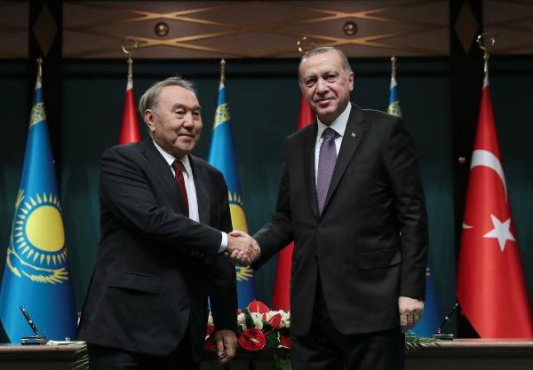 Türkiye -Kazakistan Arasında Yüksek Düzeyli Stratejik Konsey Oturumu