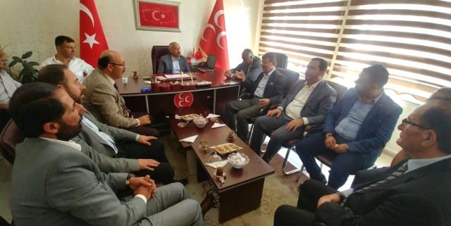 Türkmenoğlu'ndan Siyasi Partilere İadeyi Ziyaret