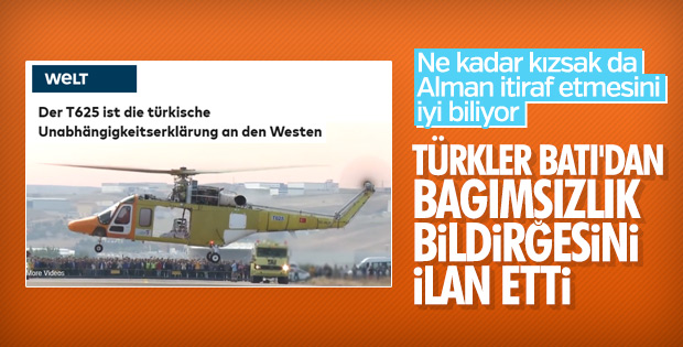 Yerli ve Milli T-625 helikopter Alman basınında
