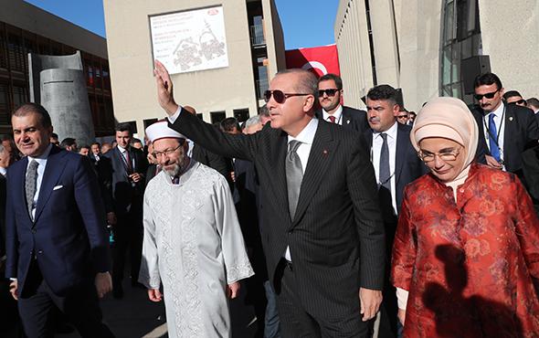 Erdoğan Köln'deki caminin açılışını yaptı