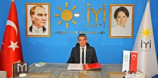 İyi Parti Çeşme İlçe Başkanı istifa etti
