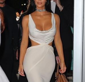 Partiye Kim Kardashian damgası