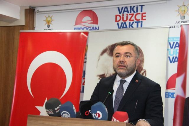 AK Parti Düzce İl Başkanı Keskin, Seçim Sürecini Anlattı