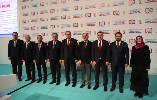 AK Parti Rize'de Belediye Başkan Adayı Olarak Rahmi Metin'i Belirledi