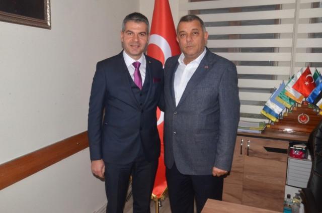 Aksan'dan Erdoğan Bıyık'ı Ziyaret