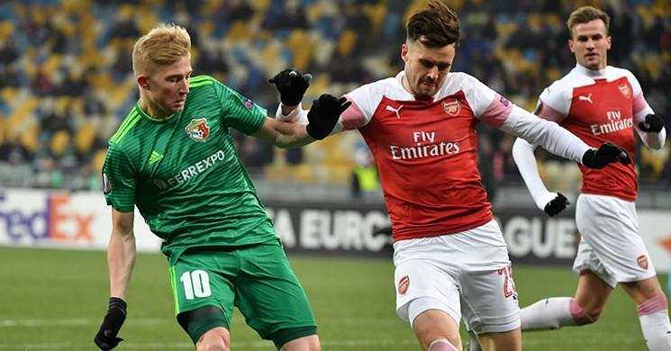 Arsenal, Ukrayna 'da 3 Attı 3 Aldı!