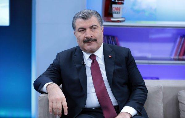 Bakan Fahrettin Koca sağlık gündemini değerlendirdi