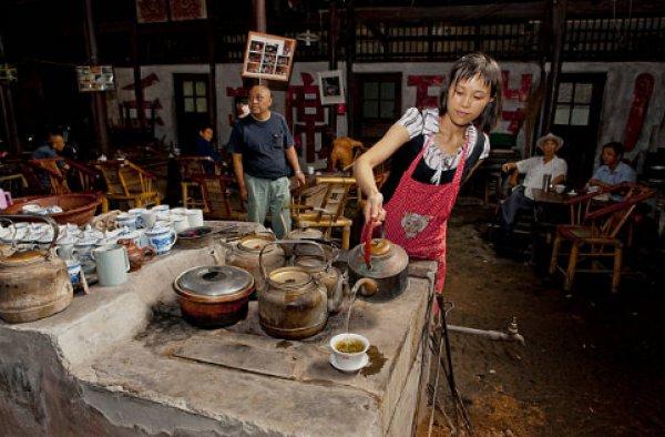 Çin 'de demlenmek: Çengdu geleneksel çayevleri