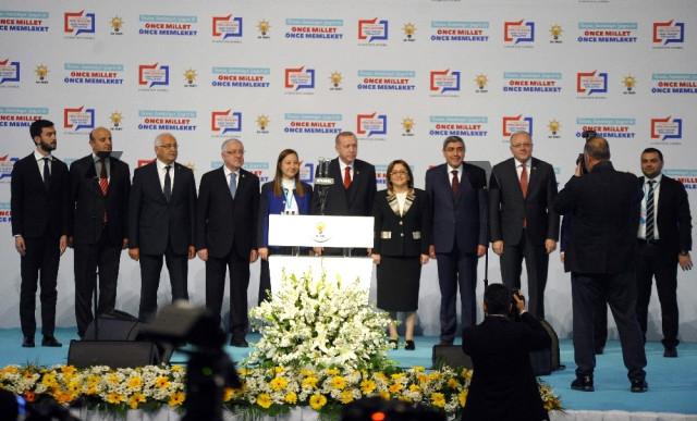 Cumhurbaşkanı Erdoğan, AK Parti Belediye Başkan Adaylarını Açıkladı(2)