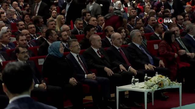 Cumhurbaşkanı Erdoğan: 'Cumhur İttifakına Bağlılığımızı Bugün Buradan Her Yerde Ifade Ediyoruz'
