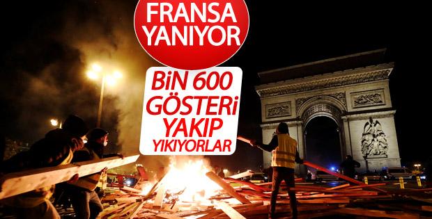 Fransa'da mazot zammı protestoları sertleşiyor