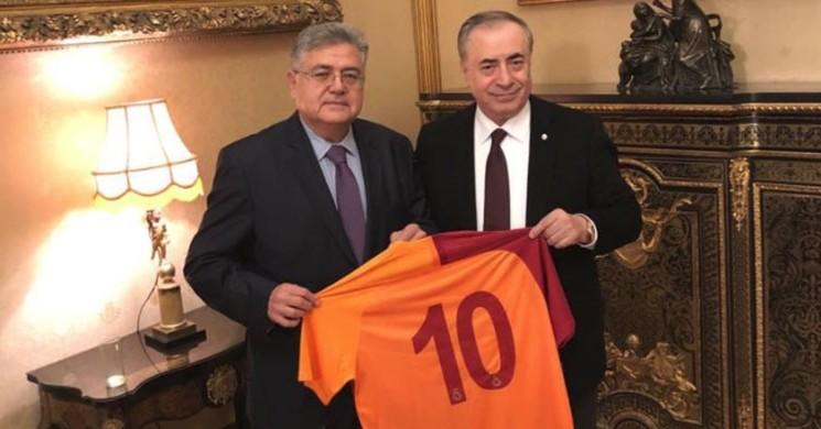 Galatasaray Başkanı Mustafa Cengiz, Moskova Büyükelçisi 'ni Ziyaret Etti!