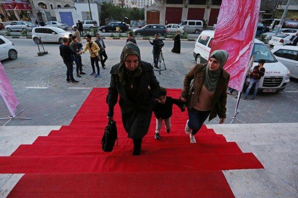 Gazze'de Kırmızı Halı Film Festivali
