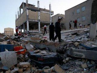 İran'daki depremde zarar görmüş sayısı 646'ya yükseldi