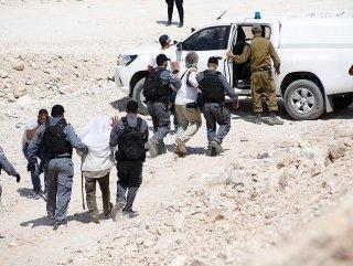 İsrail güçleri 45 Filistinliyi gözaltına aldı