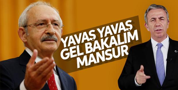 Kemal Kılıçdaroğlu'ndan Mansur Yavaş'a yeşil ışık