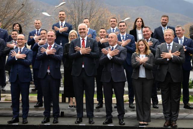Kosova ve Arnavutluk Bakanlar Kurulu Üyeleri 5. Kere Bir Araya Geldi