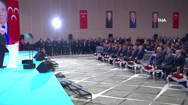 MHP Lideri Bahçeli: 'İstanbul, Ankara ve İzmir'de Namzet Göstermeyeceğiz'