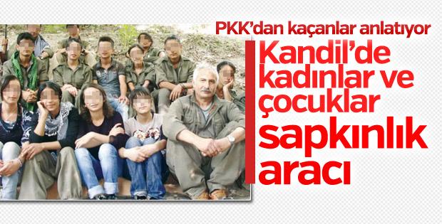 PKK'dan kaçan terörist: Bayan için Kandil tecavüz aramak