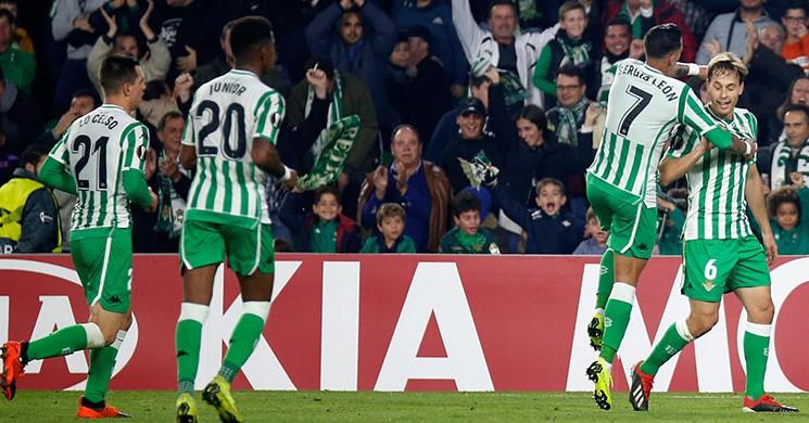 Real Betis, Tek Attı Tur Atladı!