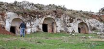 Roma dönemi mezarları gün yüzüne çıkarılıyor