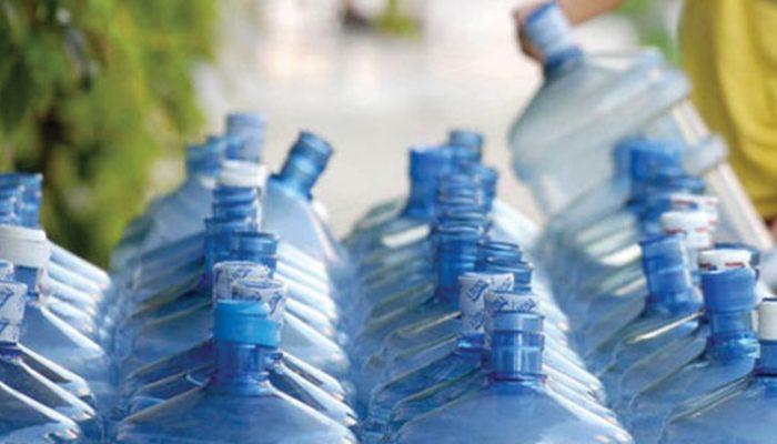 Su damacanaları için korkutan dikkat