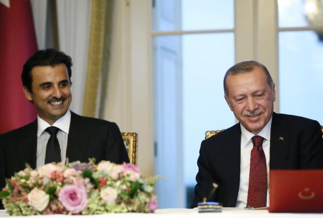 Türkiye-Katar Aralarında İki Protokol İmzalandı