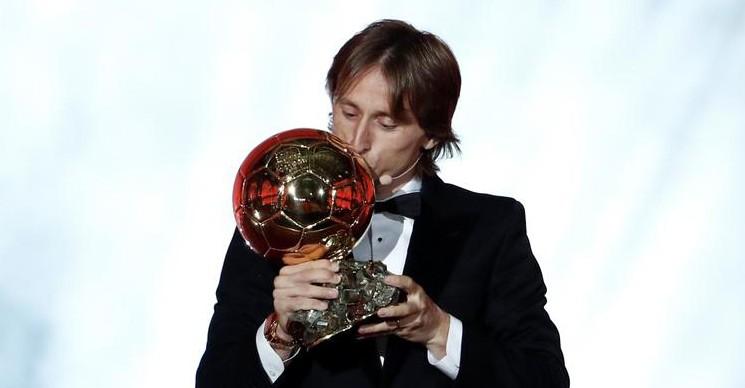 2018 Ballon D'Or'un Kazananı Luka Modric Oldu