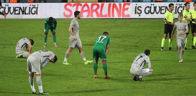 Adana Demirspor Sonunu Getiremedi!