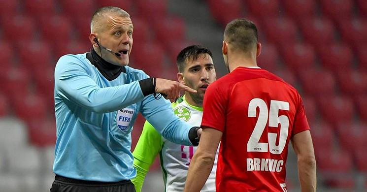 Akhisarspor-Standard Liege Karşılaşmasına Macar Hakem!