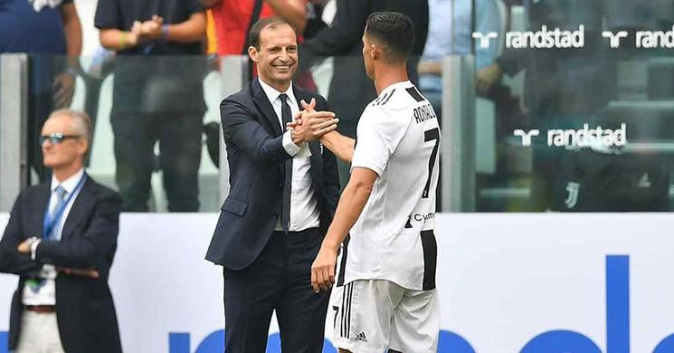 Allegri 'ye Göre Ballon d 'Or Ödülünü Ronaldo Yargı Etti!