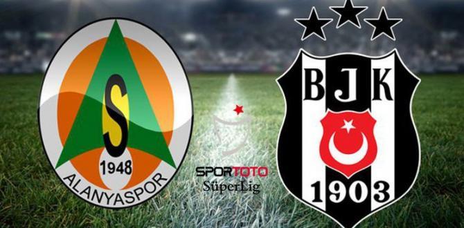 Beşiktaş, Alanya 'da 3 Puan Ardından!