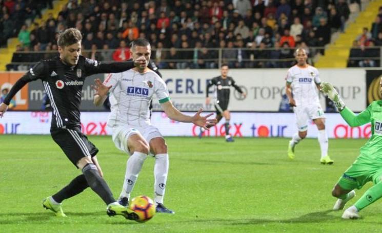 Beşiktaş - Aytemiz Alanyaspor Maç Sonucu: 0-0