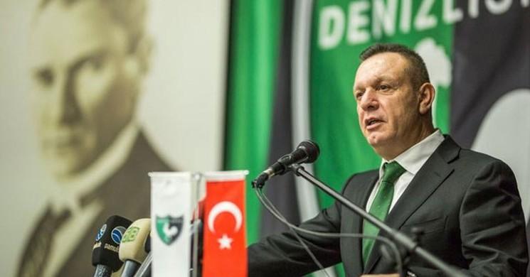 Denizlispor 'da Ali Çetin Her Tarafta Başkan Oldu!