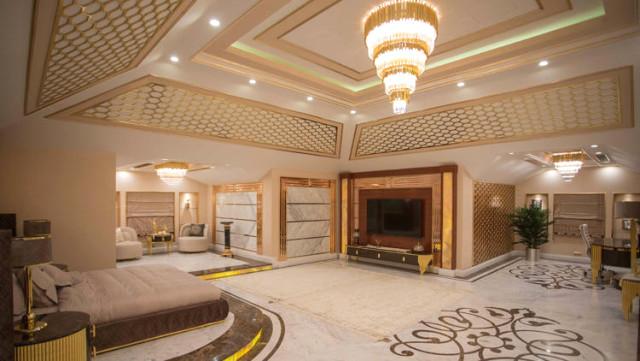 Dubai Emiri'nin Gebze'de Yaptırdığı Ultra Lüks Malikanede 24 Akort Altın Kullanıldığı Ortaya Çıktı