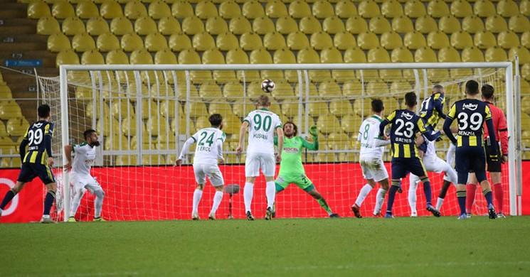 Fenerbahçe Slimani 'yle Kazandı!