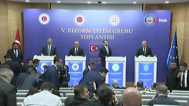 Hak Bakanı Gül: 'Reform Sürecini Canlandırma Yönündeki Dikkatimizi Katılım Süreci İlişkili...