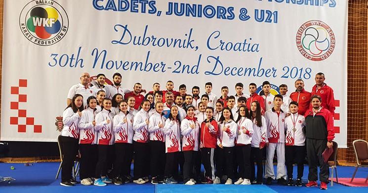 Karate Ulusal Takımı 'ndan Balkan Şampiyonası'nda 26 Madalya!