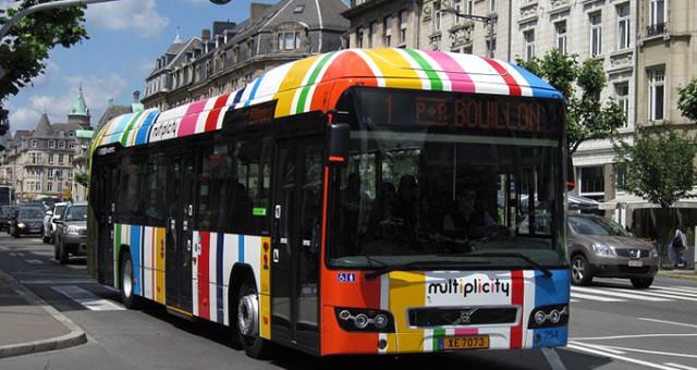 Lüksemburg'da Toplu Taşıma Araçları Bedava Olacak