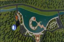Rize 'ye yapay göl projesi.